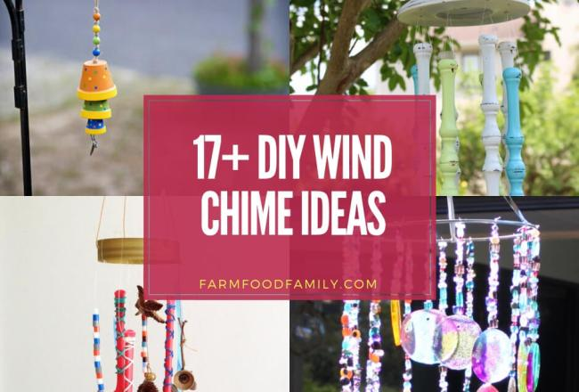 17+ Best DIY Wind Chime...