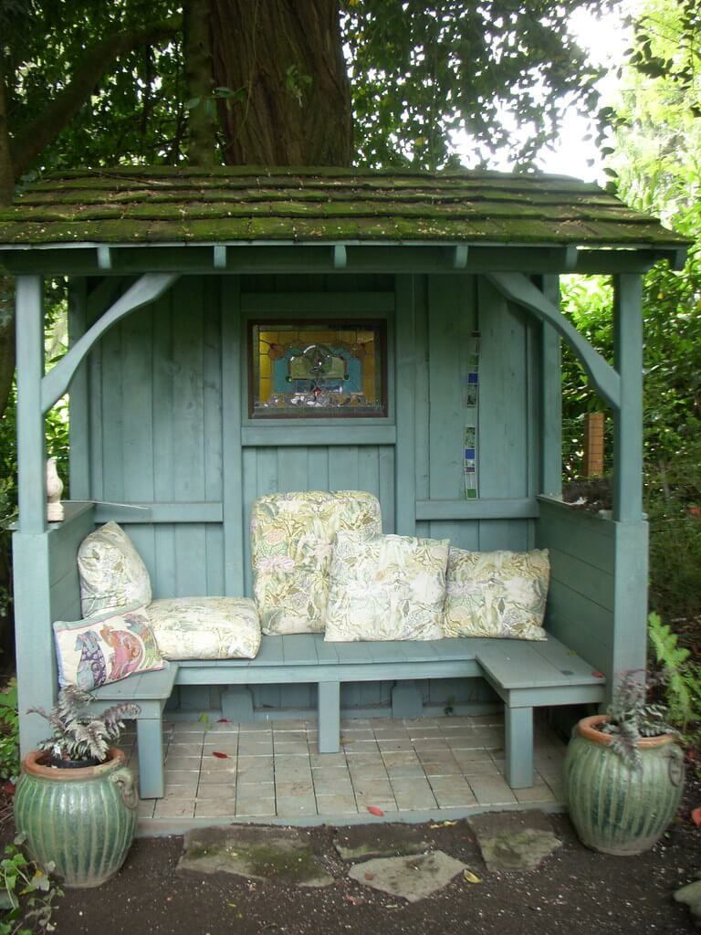 Vintage potting shed