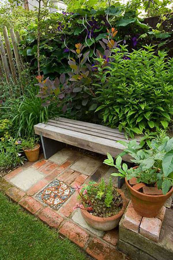Backyard seating area ideas