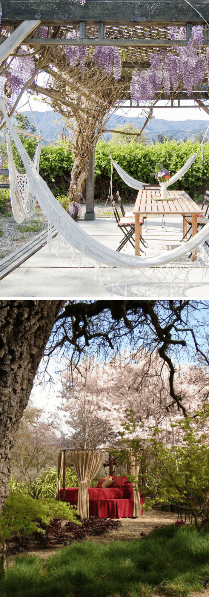 best backyard hammock ideas Romantic Retreat