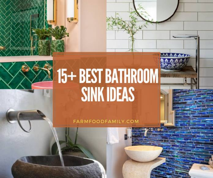 best bathroom sink ideas & designs