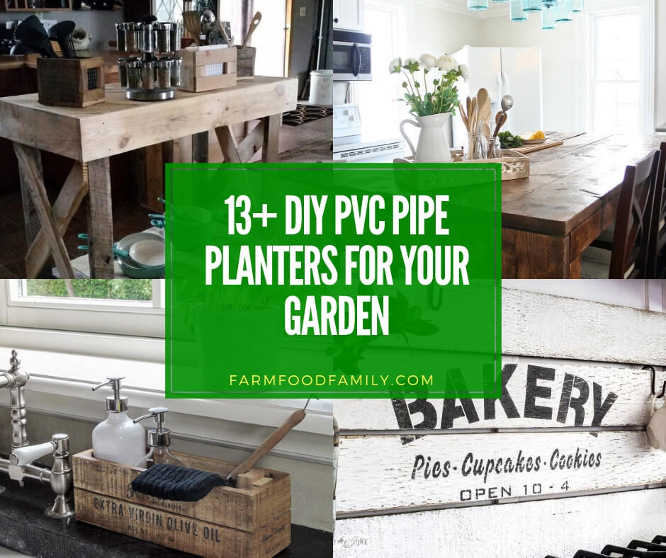 13 Best Diy Pvc Pipe Planters For Your Garden 2019