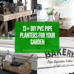 best diy PVC pipe planters for your garden