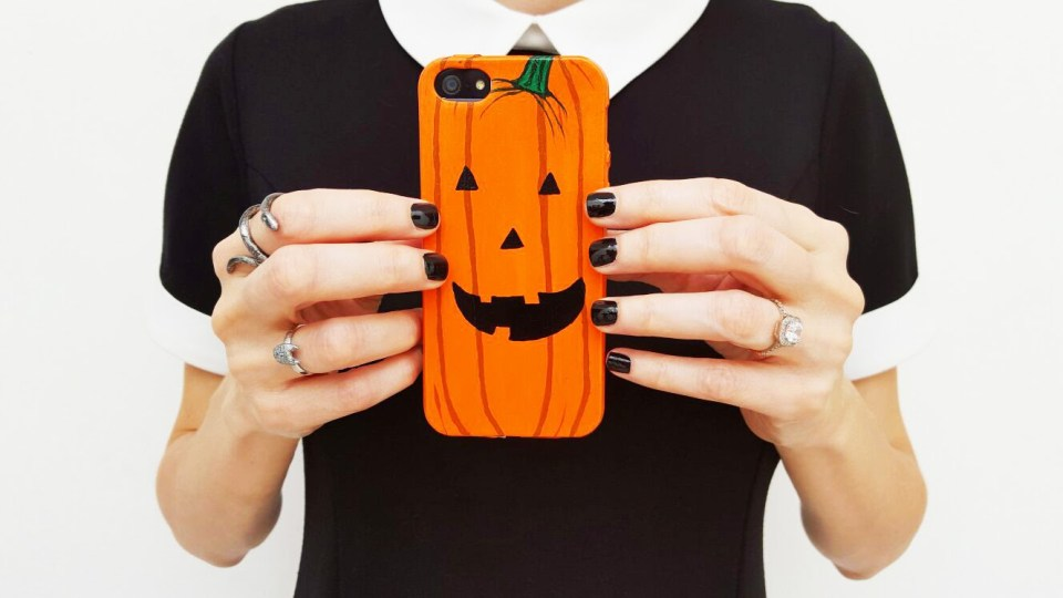 Phone case for halloween