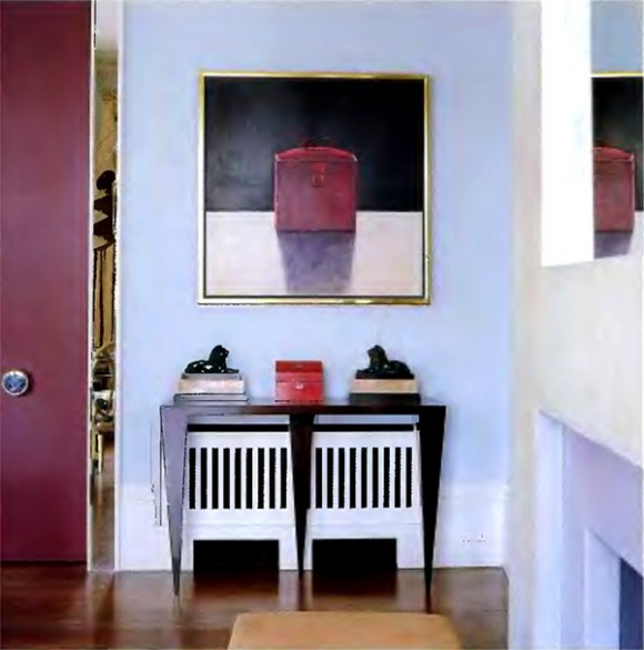 Room decorating with wall decor