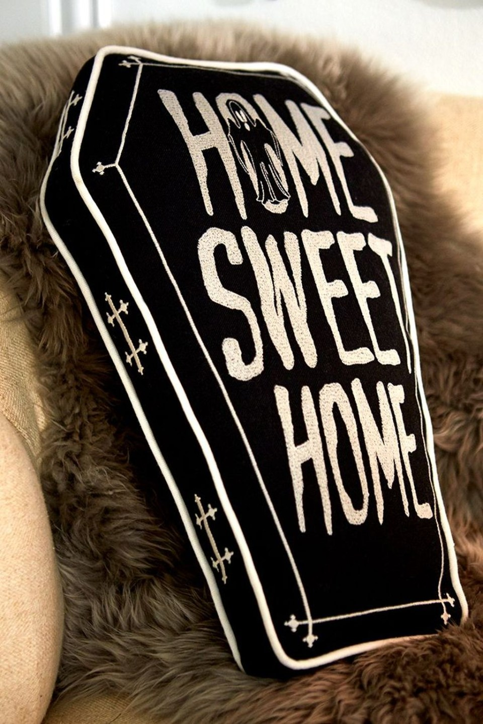 Coffin cushion for halloween