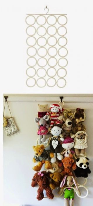 Hanger where you can place your stuffed toys