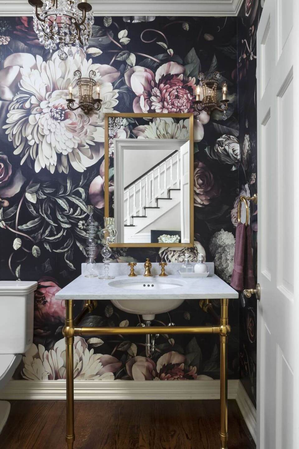12 best powder room ideas designs for your house 2019 - Small powder room decorating ideas ...