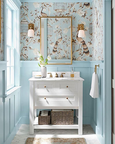 12+ best powder room ideas & designs for your house 2020