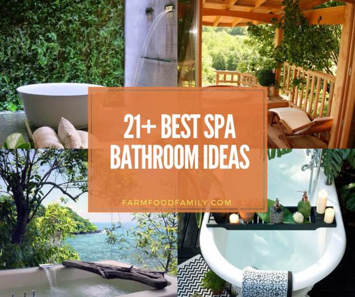 best spa bathroom ideas