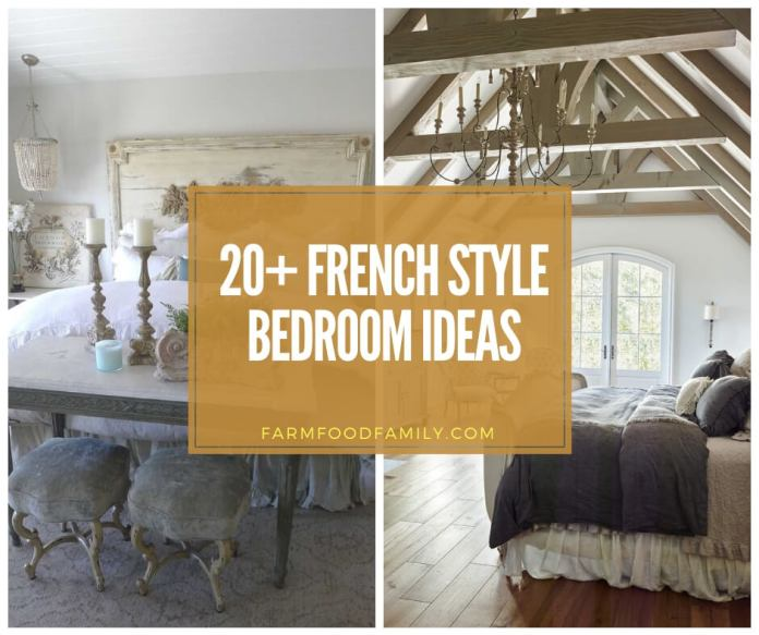 best French Style Bedroom Decor Ideas