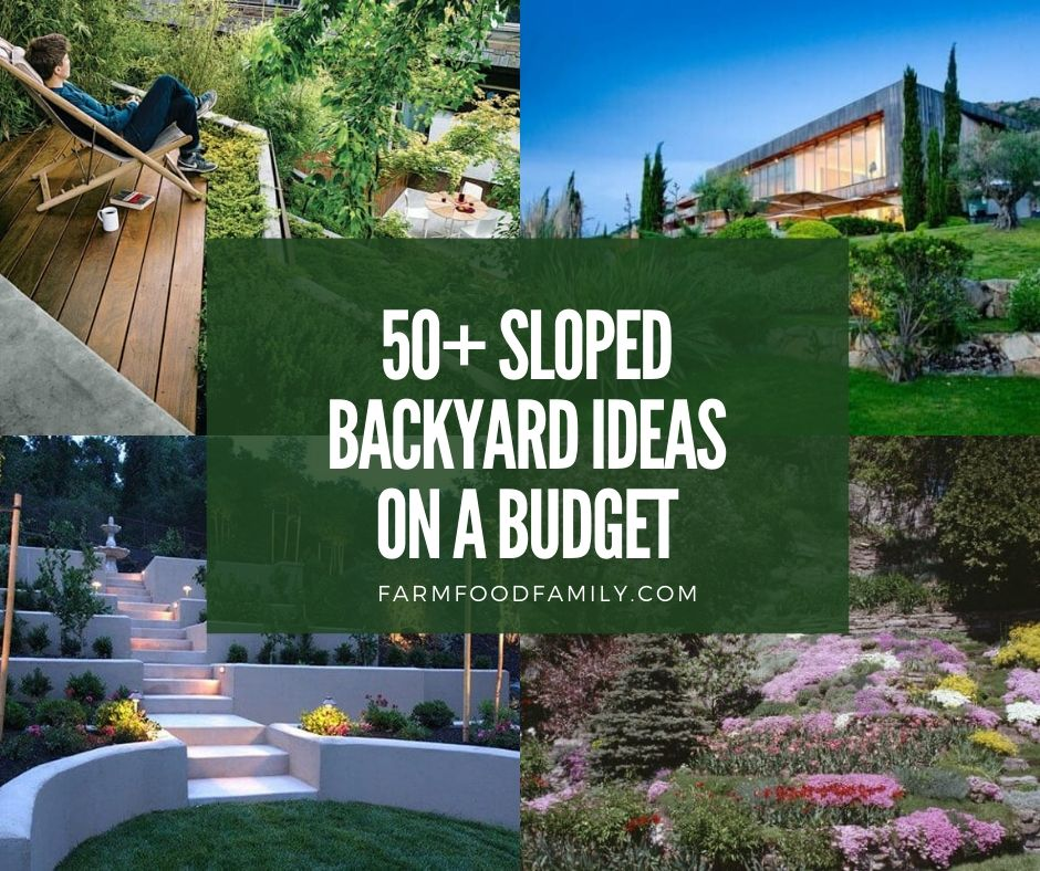 50 Best Sloped Backyard Landscaping Ideas Designs On A Budget For 2021