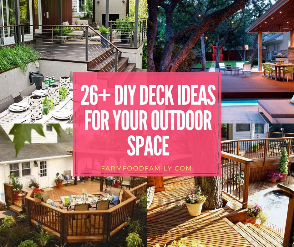 26 Beautiful Deck Design Ideas For Your Backyard Photos For 2020