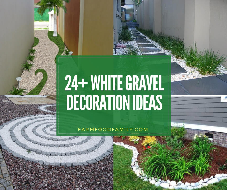24 Best White Gravel Landscaping Ideas Designs For 2020
