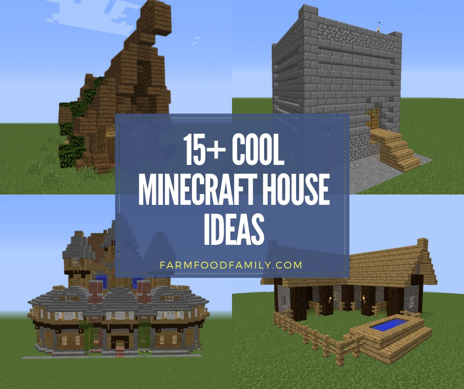 15 Cool Minecraft House Ideas Designs Blueprints