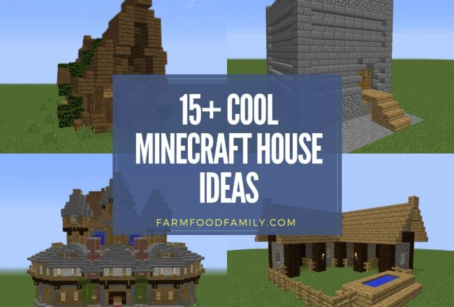 15+ Cool Minecraft House Ideas &...