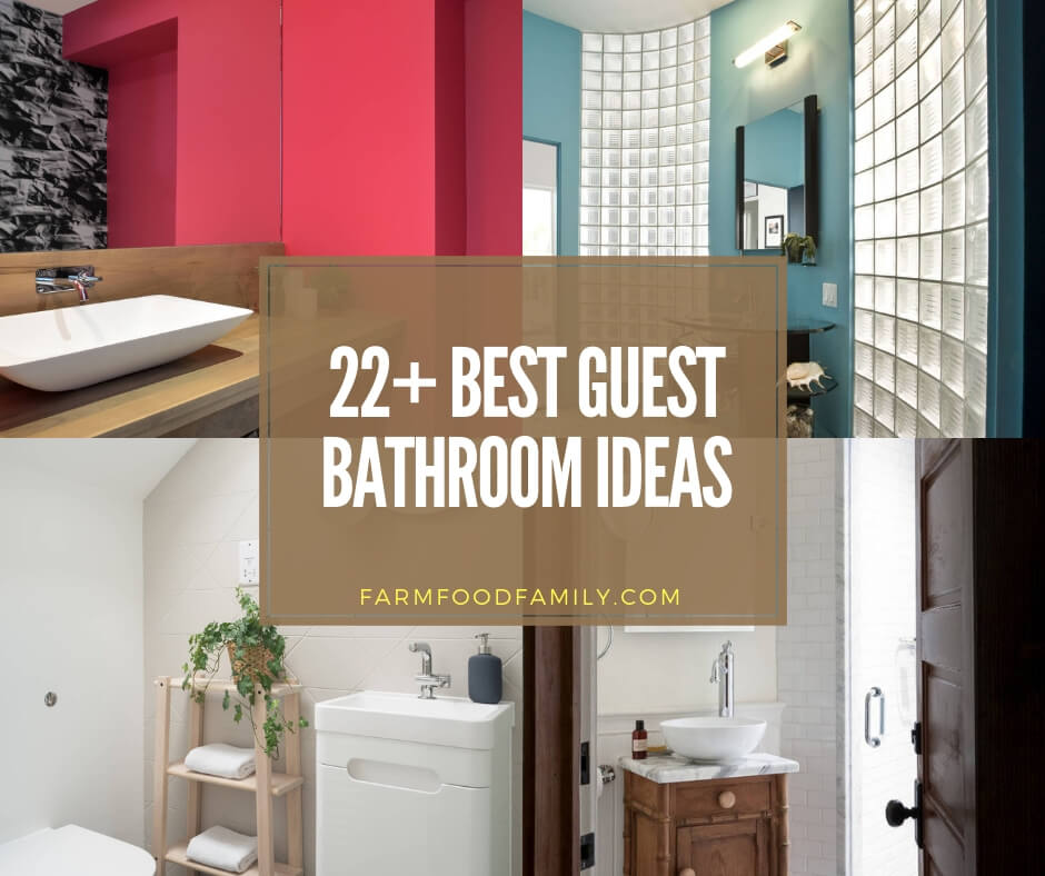 22+ Guest Bathroom Ideas and...
