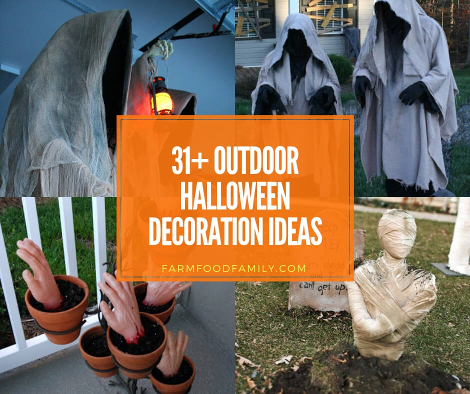 31+ Scary Halloween Outdoor Decoration Ideas To Try For 2019