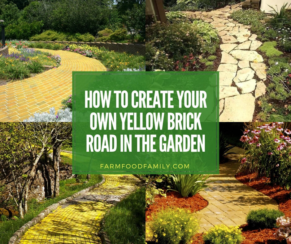 45 Best Cottage Style Garden Ideas And Designs For 2020: 16+ Beautiful Yellow Brick Road Garden Ideas & Designs For