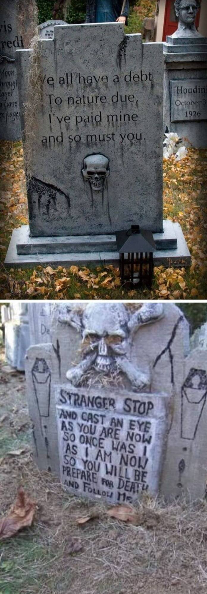 10 Scary Halloween Tombstone Ideas & Designs For 2020