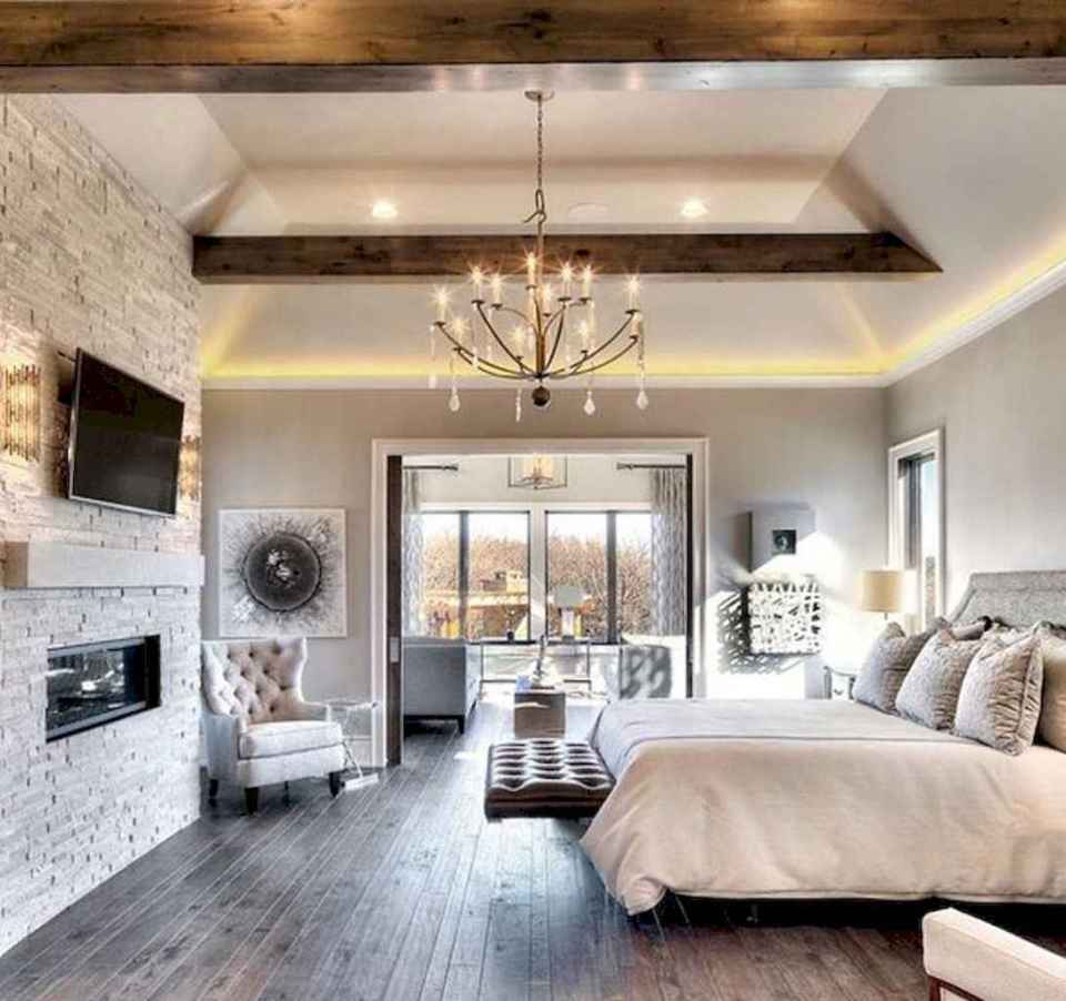 25+ Stunning Farmhouse Master Bedroom Decor Ideas