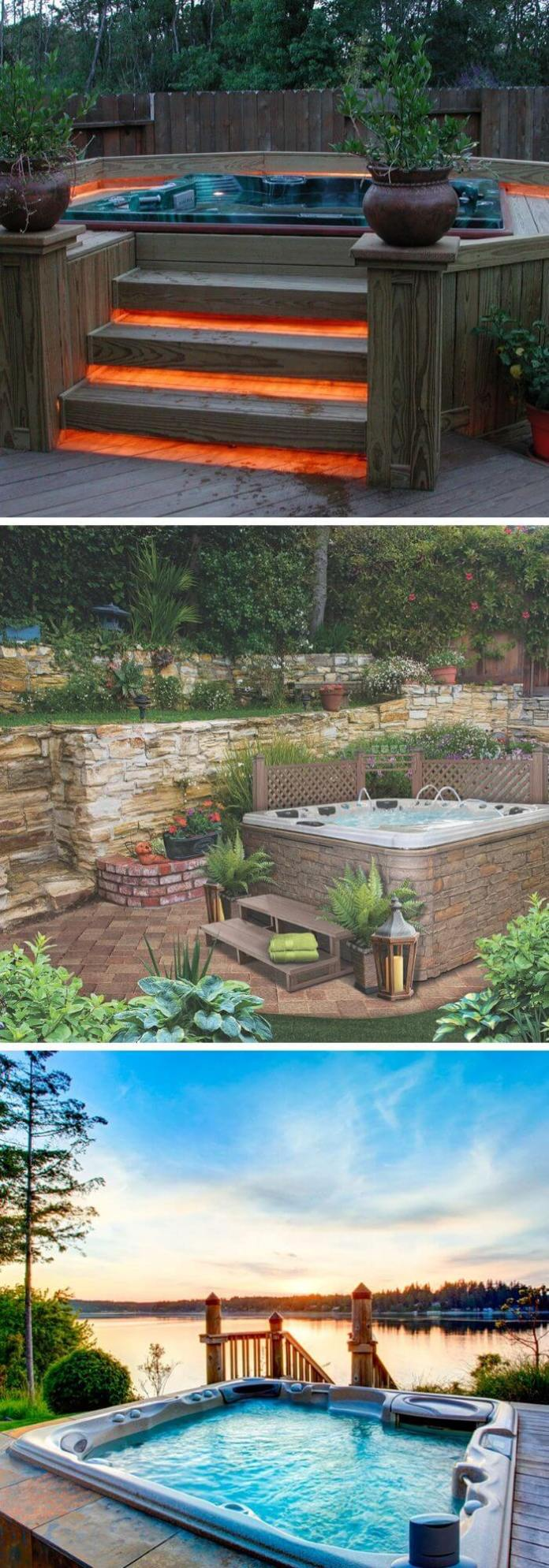 The Hot Tub Backyard