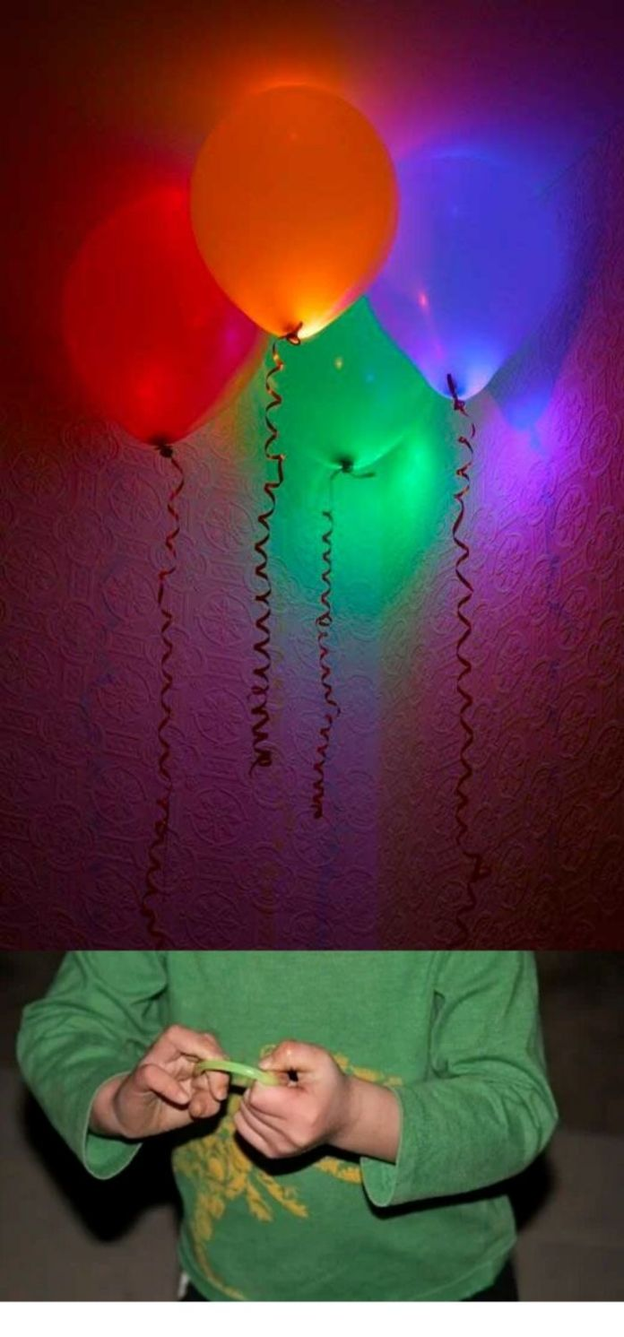 Put them in balloons to Jazz your party