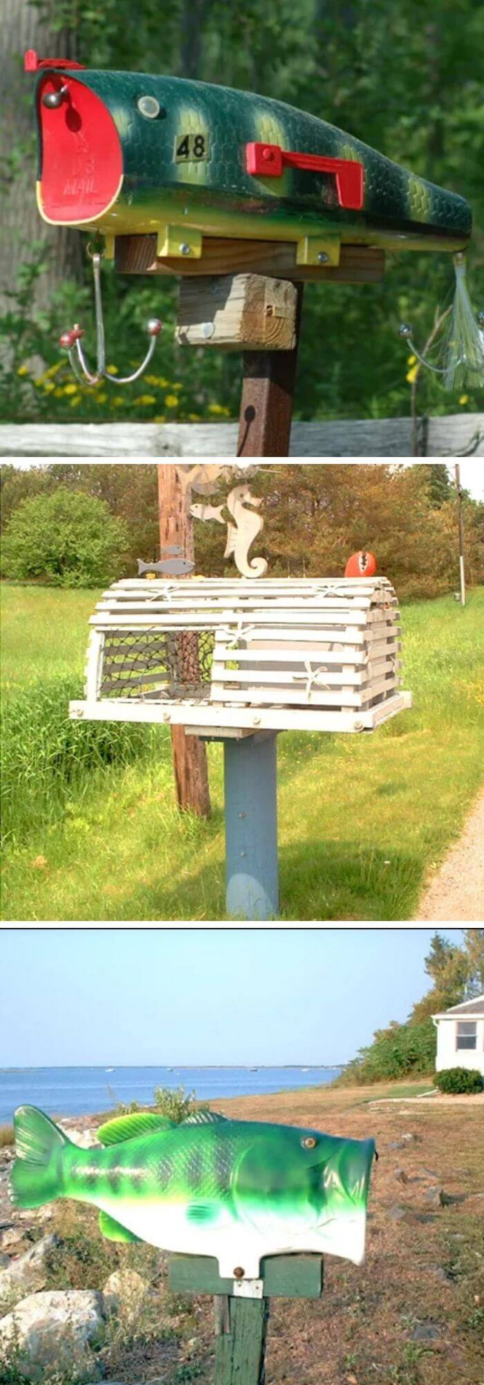 Beach mailbox | Beach-Style Outdoor Ideas For Your Porch and Backyard