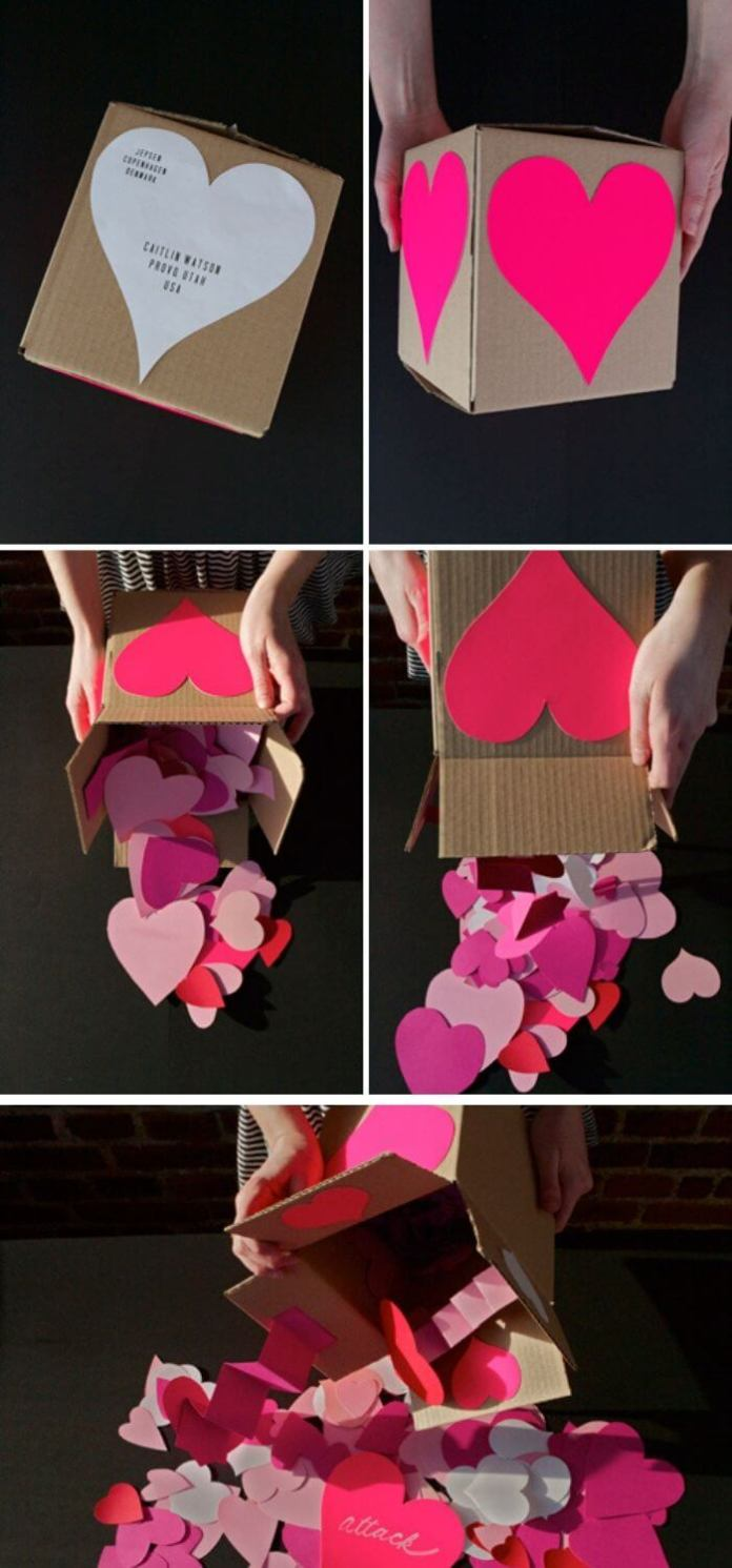 Valentine's heart attack | Heart-Shaped Crafts For Valentine's Day
