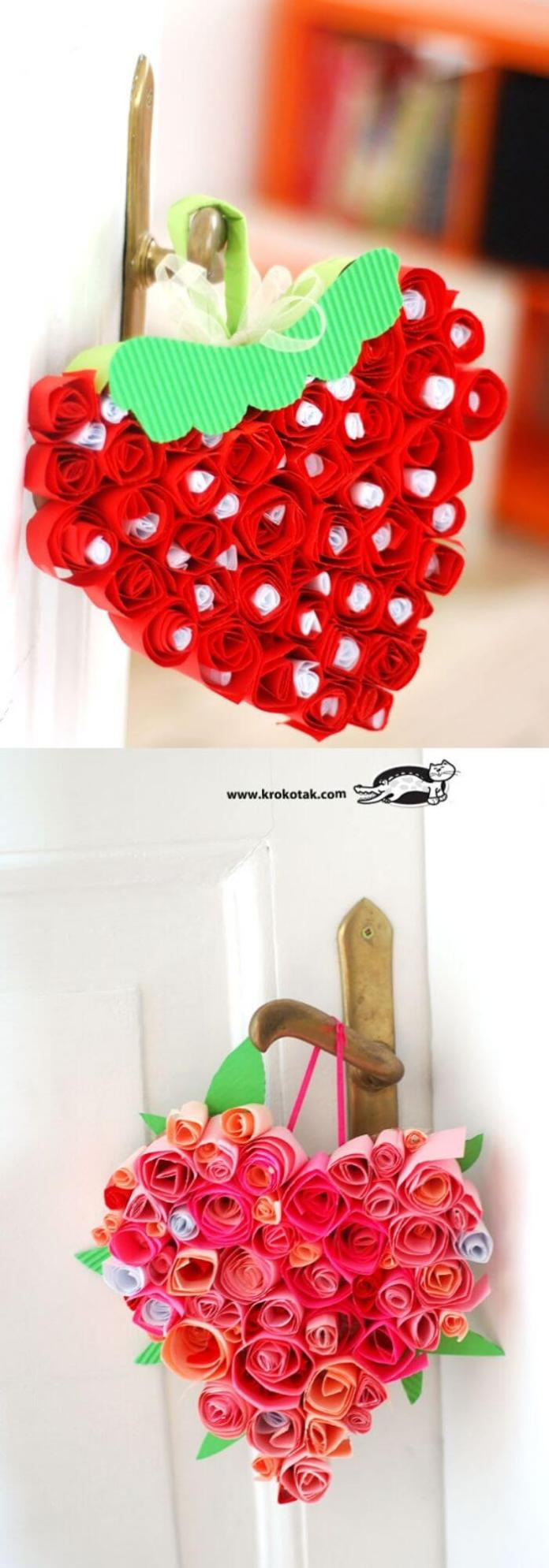 Strawberries | Heart-Shaped Crafts For Valentine's Day