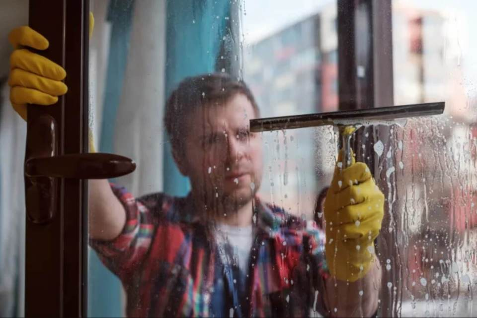 Wash your Window on a Cloudy Day