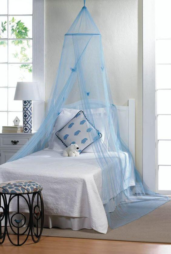 Get a Bed With Blue Canopy