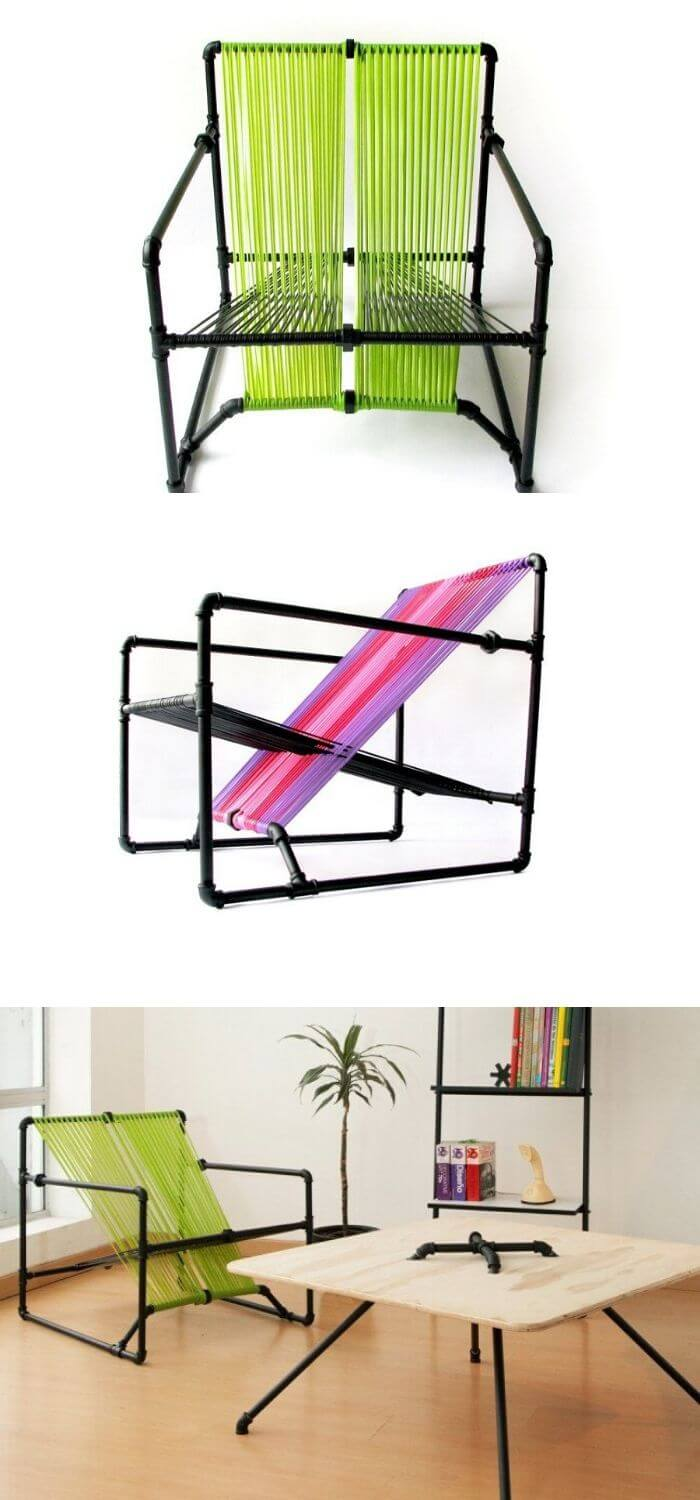 Pipe chair