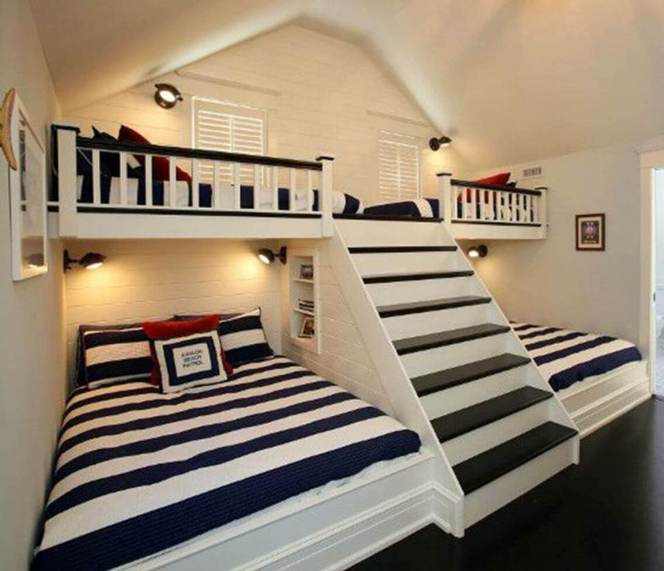 The four bed scheme