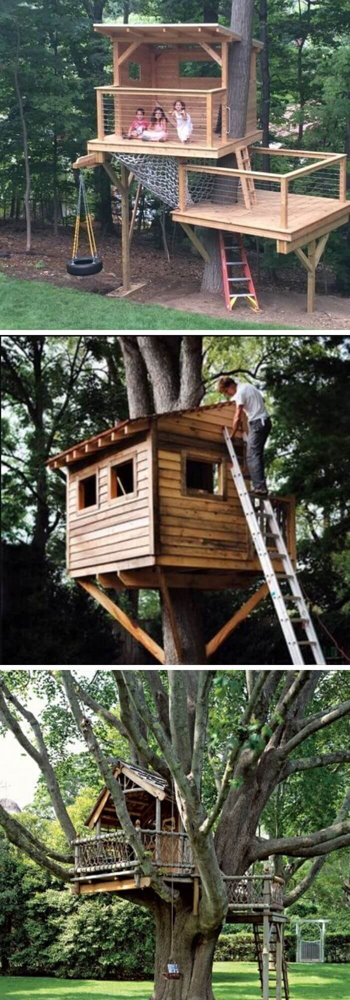 Backyard DIY Treehouse