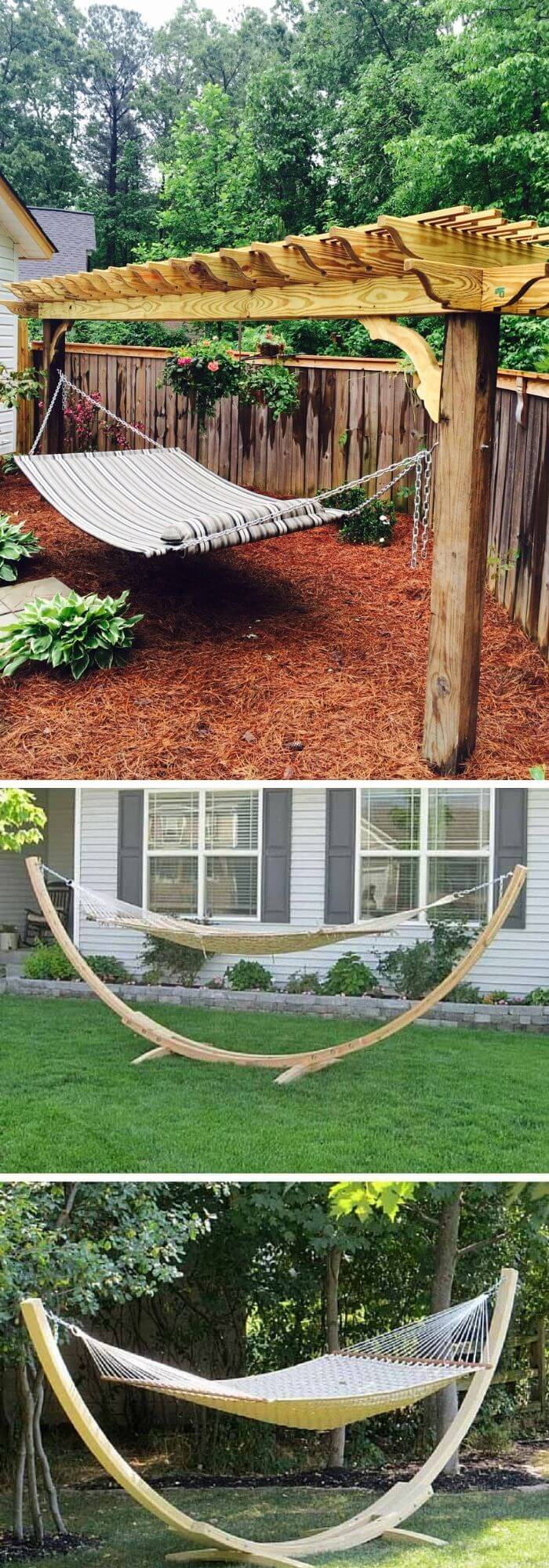 Backyard DIY Hammock Swing/ Chair