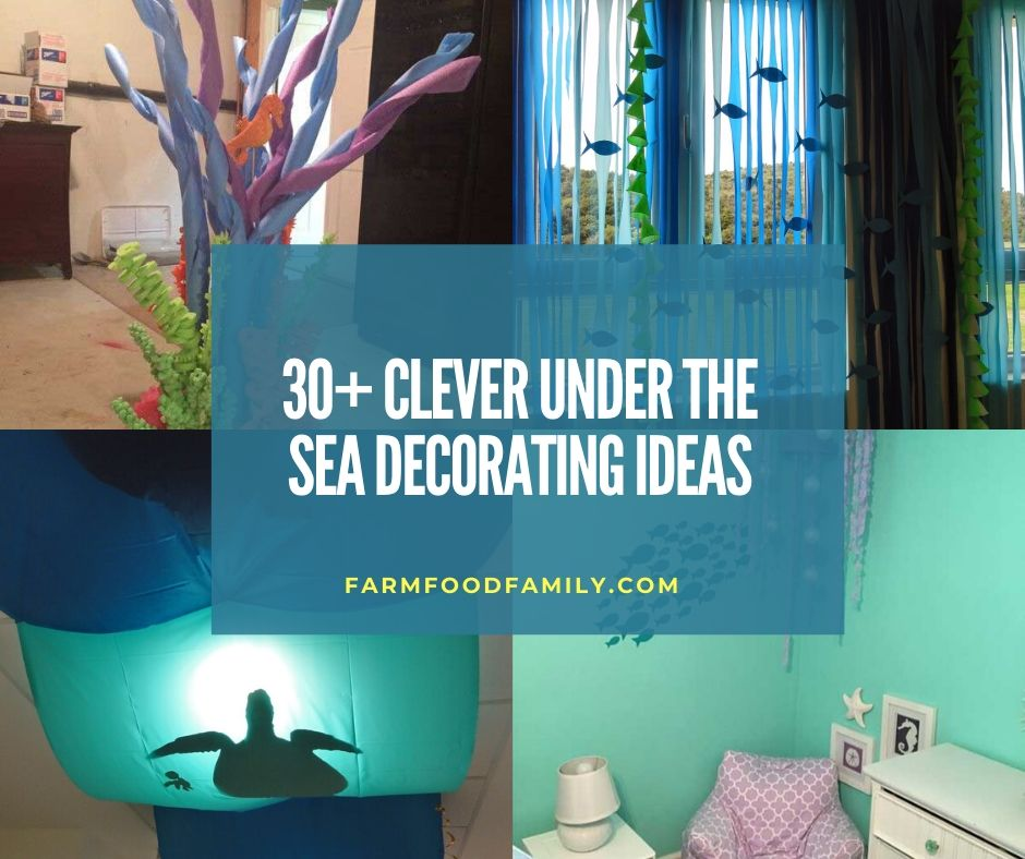 12+ Best Under The Sea Decor Ideas & Designs That Your Kids Will Love