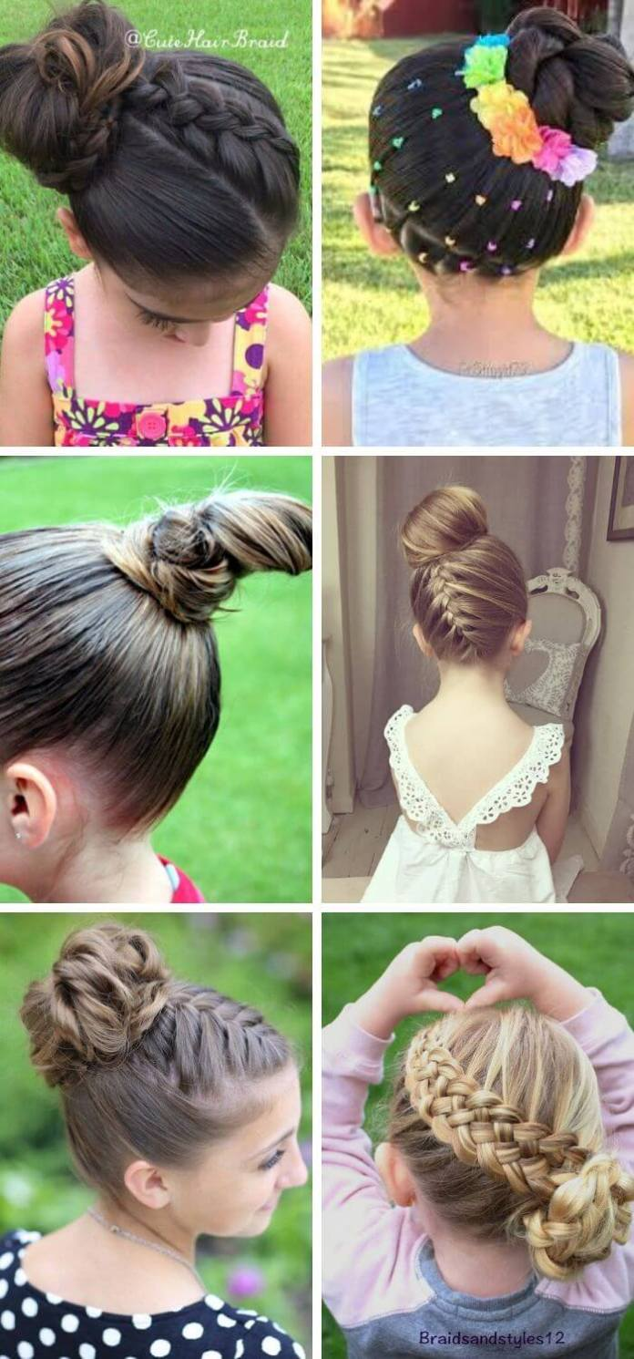 Round Braid with Stylish Bun