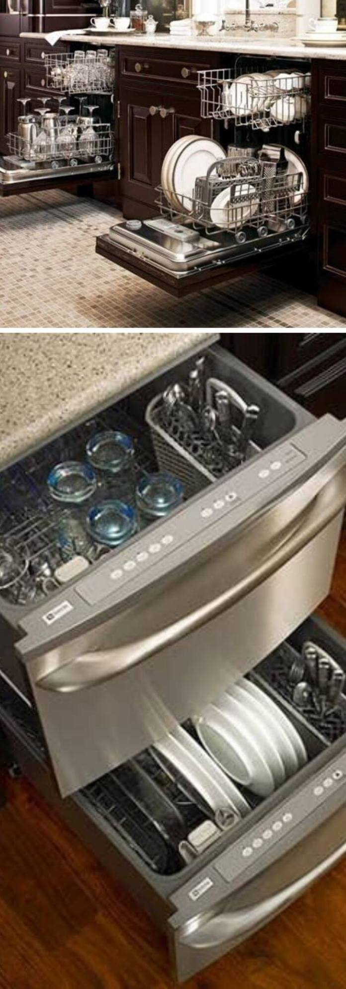 Make space for two dishwashers except for one