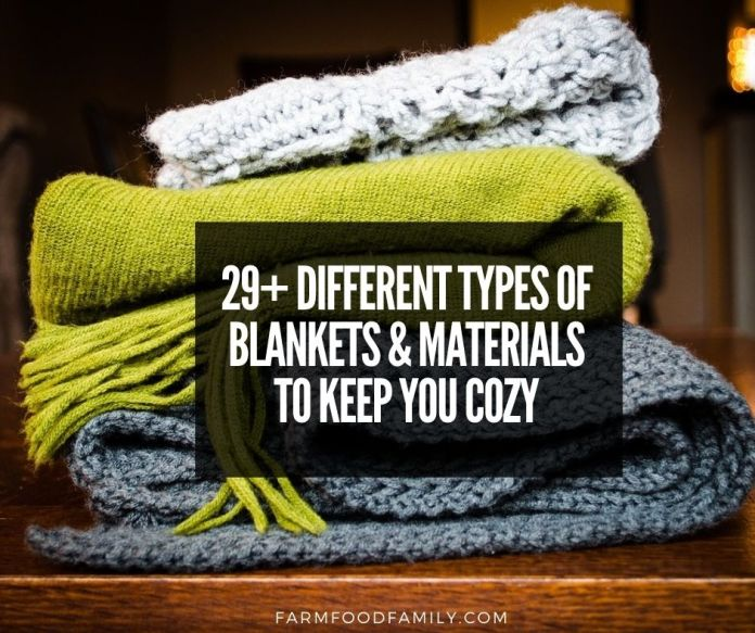 types of blankets and materials