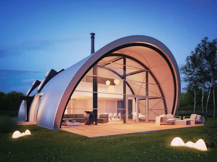 Modern Quonset Hut Homes