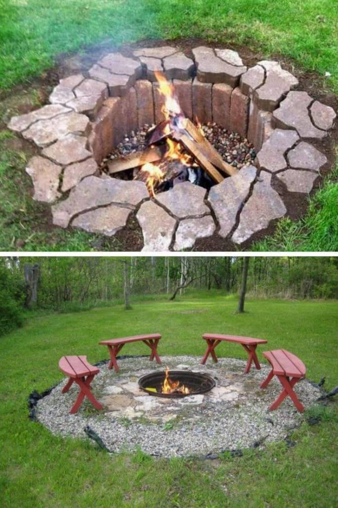 Easy In-Ground Fire Pit