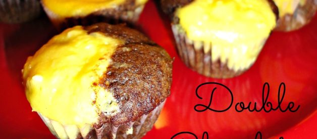 Double Chocolate Cheese Muffins Recipe