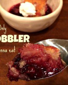 Blackberry Cobbler Recipe – the Only Cobbler I Eat