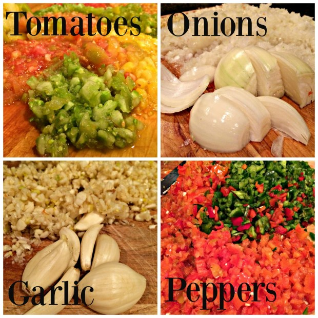 green salsa collage 2