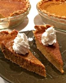 Pumpkin Pie Recipe (without Evaporated Milk)