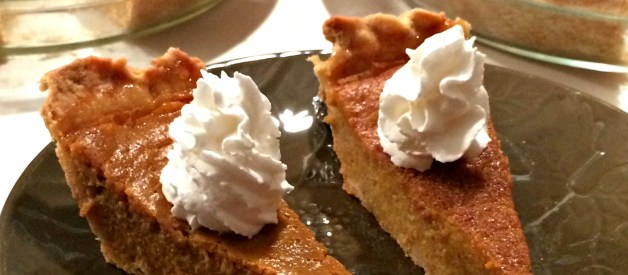 Pumpkin Pie Recipe (without Evaporated Milk)