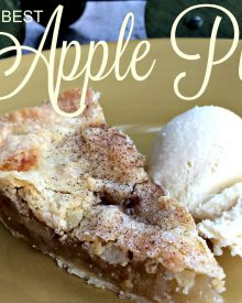 Homemade Old Fashioned Apple Pie From Scratch