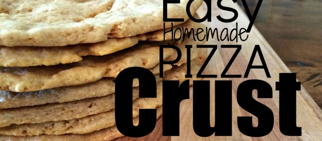 Make Your Own Pizza Crust