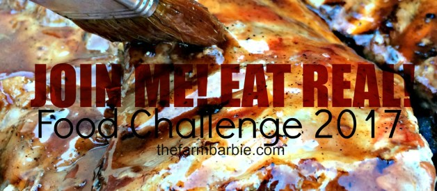 Join Me! Eat Real!